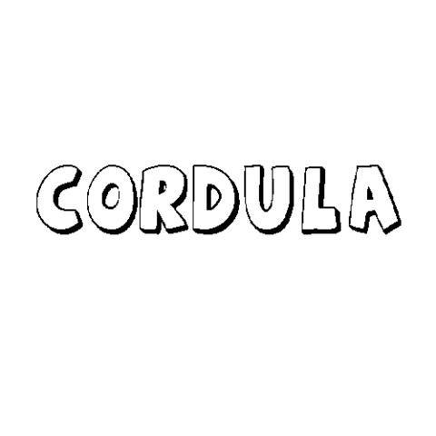 CÓRDULA