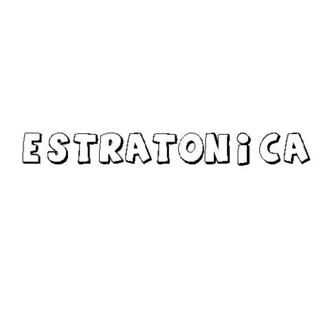 ESTRATÓNICA