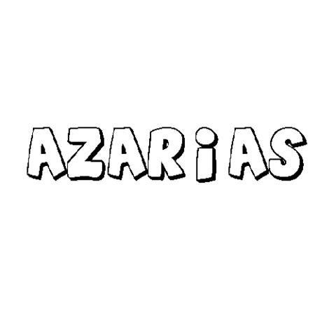 AZARÍAS