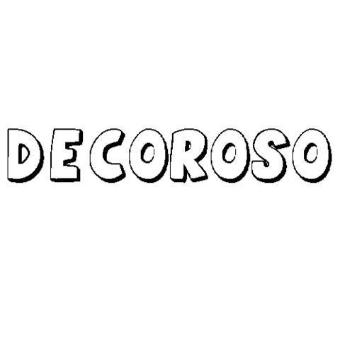 DECOROSO