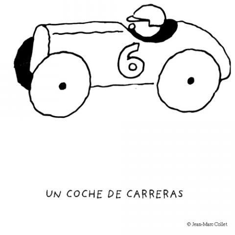 Coche De Carreras Dibujos Para Colorear