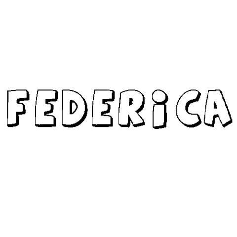 Nombre Federica