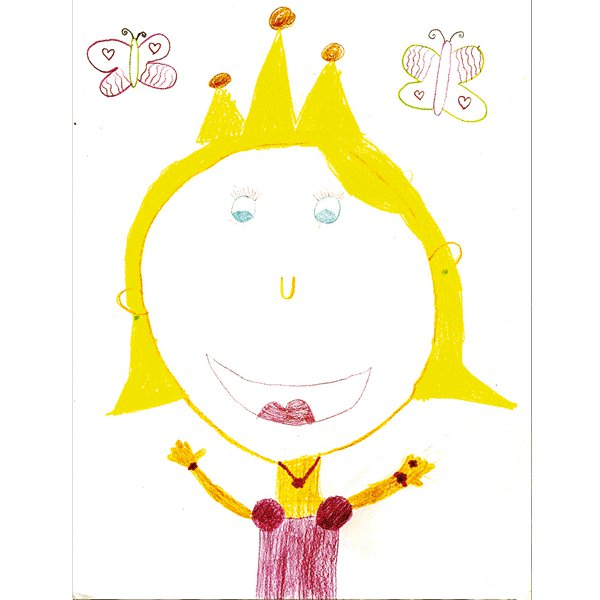 Anna Fité, 6 años