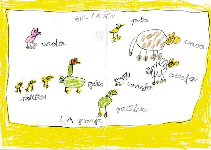 Beltrán García Sánchez, 6 años