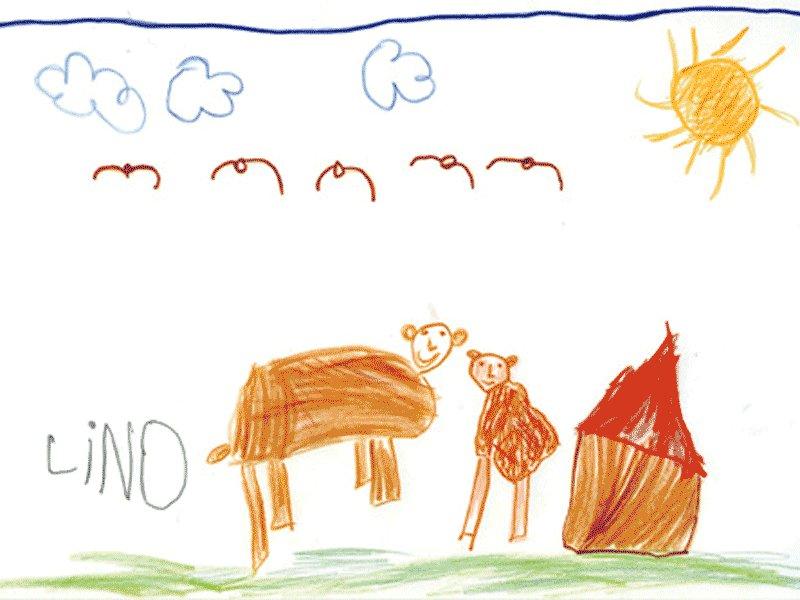 Lino Hevia Ruiz, 5 años