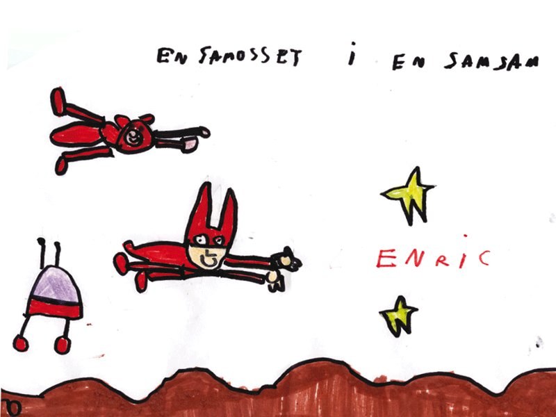 Enric Torres Alzamora, 5 años