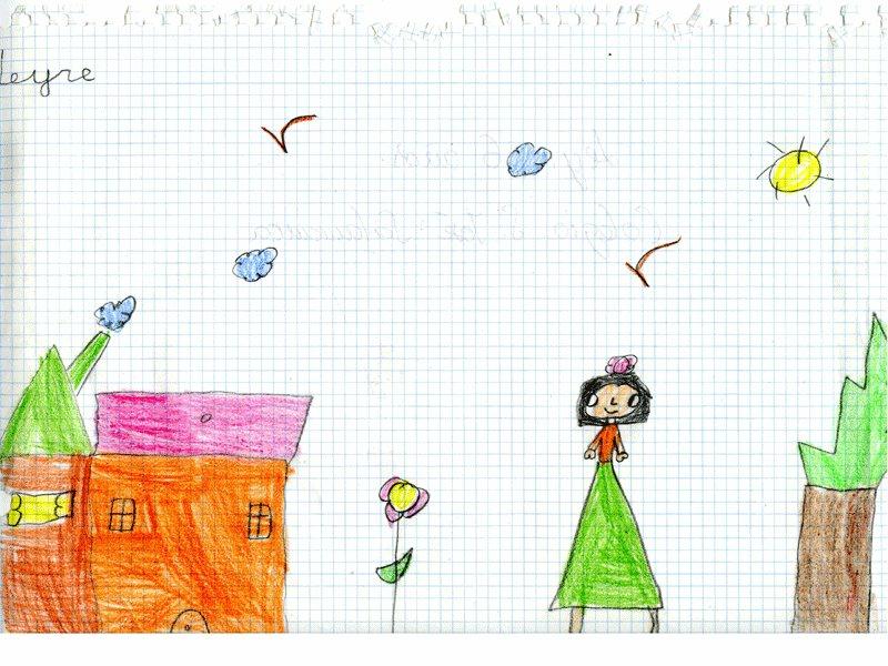 Leyre, 6 años