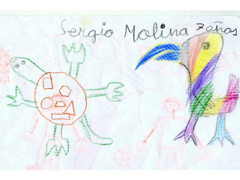 Sergio Molina, 7 años, Salamanca