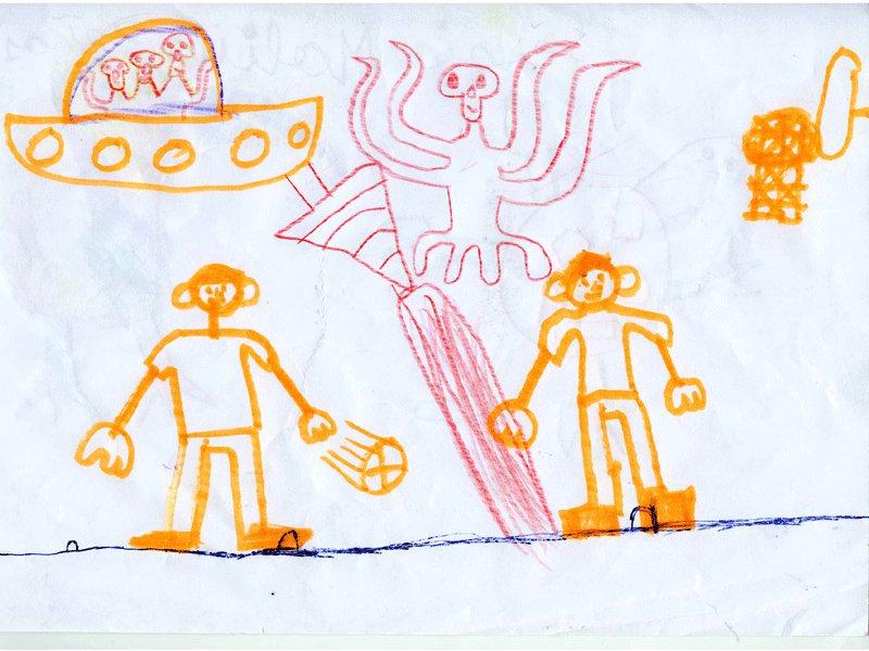 Sergio Molina, 7 años