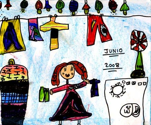 Dibujo de Daniela, de 5 años