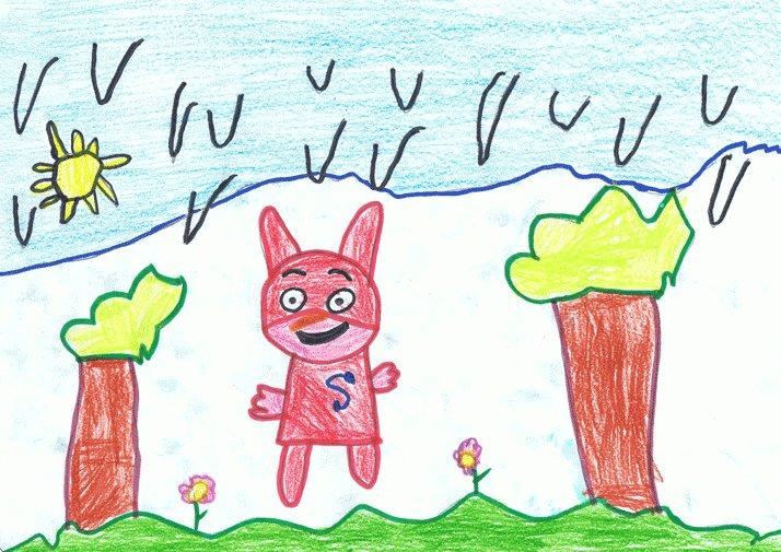 Dibujo de Ángel, de 5 años