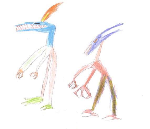 Dibujo de Marçal, de 5 años