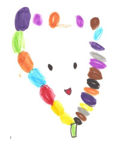 Dibujo de Olatz, de 5 años