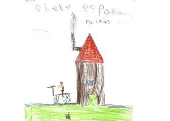 Dibujo de Diego, de 7 años