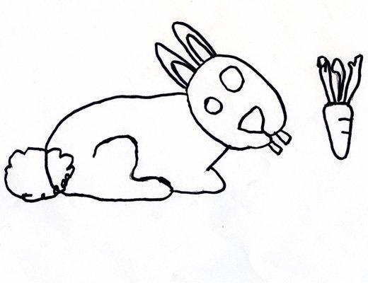Dibujo de Manuel Martín, 7 años