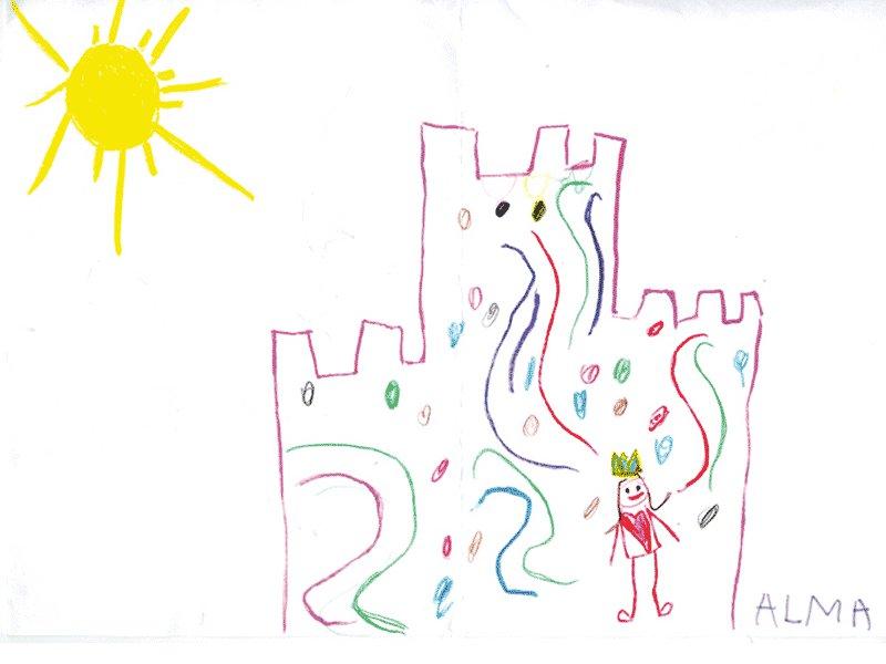 La princesa y su castillo, Alma