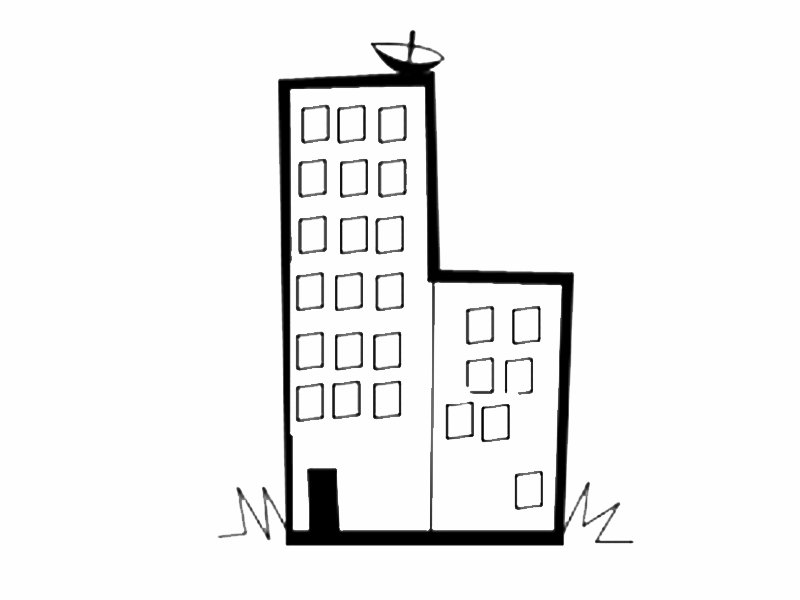 List of Synonyms and Antonyms of the Word: edificio dibujo