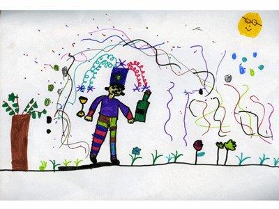 Anna Blanco, 6 años