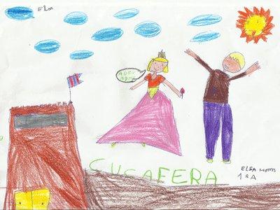 Elsa Homs, 6 años