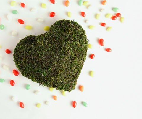 Tarjetas virtuales de amor. Un corazón de regalo