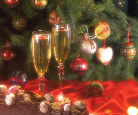 Felices Fiestas. Tarjeta virtual navideña para enviar online