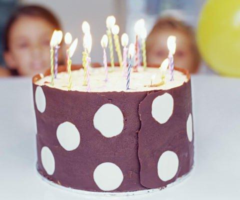 Tarta de cumpleaños, tarjeta virtual gratis