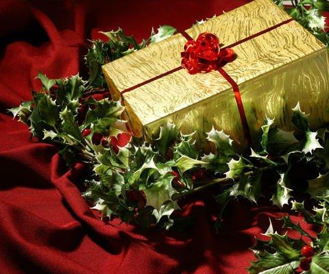 Una tarjeta regalo de Navidad virtual