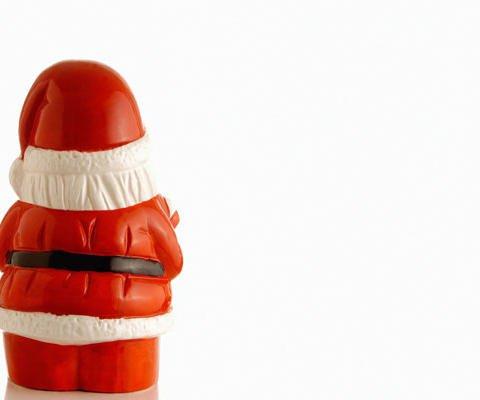 Tarjeta virtual de Papá Noel para felicitar la Navidad
