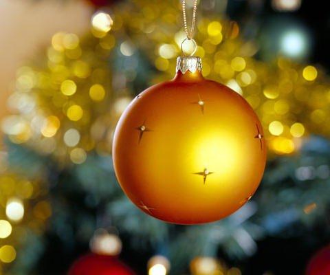 Christmas virtual para niños. Bola de Navidad