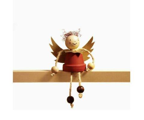 Ángel de Navidad. Tarjeta virtual de Navidad