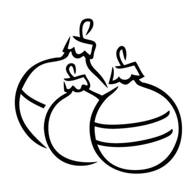Bolas navide as para colorear - Dibujos navidenos para imprimir y colorear ...