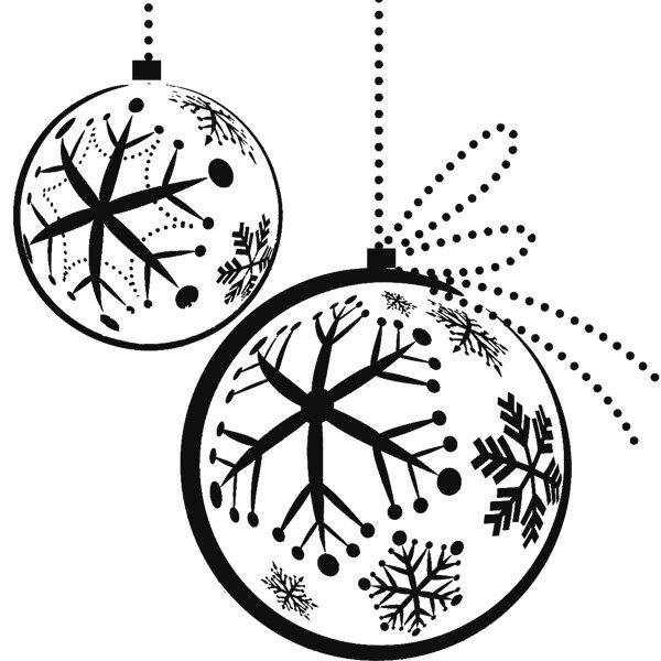Bolas De Navidad Dibujos Para Colorear.Dibujos Para Colorear De Bolas De Navidad