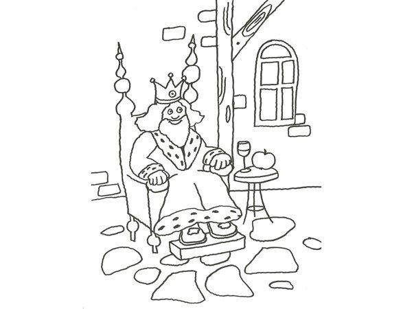 para pintar con nios de un rey de cuento