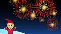Tarjeta virtual para celebrar el Año Nuevo