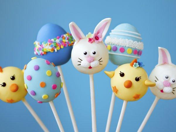 Dulces de Pascua. Tarjeta virtual para los niños