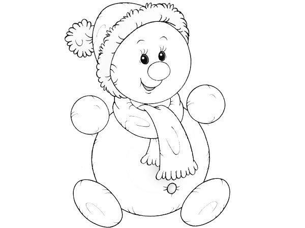 Mu ecos navide os para dibujar faciles imagui - Munecos de nieve para dibujar ...