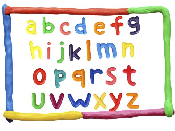 Regresar a: Letras del abecedario con plastilina para niños