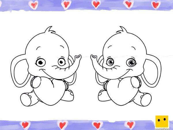 Tarjetas infantiles de corazones imagui - Dibujos infantiles de bebes ...