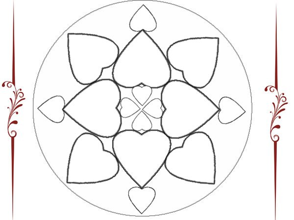 Mandalas Para Imprimir De Estrellas