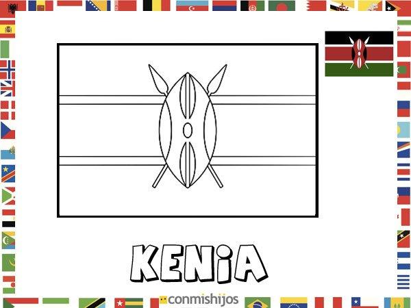 Pintar NiÑos Del Mundo Por Paises Y Banderas: Imagenes De Banderas Del Mundo Para Colorear