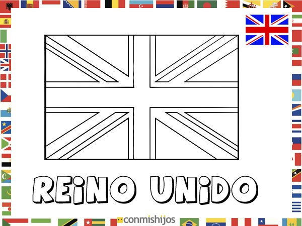 Bandera de italia para imprimir imagui - Dibujo bandera inglesa ...