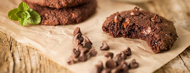 Cookies de chocolate para cocinar con nños