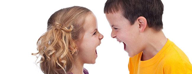 Las peleas entre hermanos