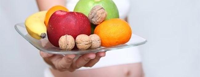Dieta sana para embarazadas