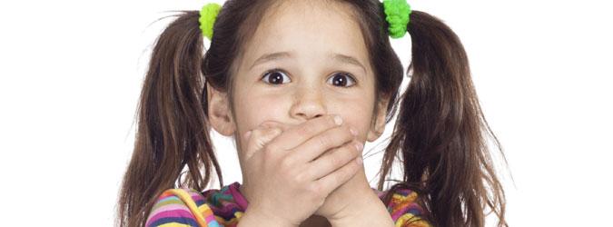 Los niños y las palabrotas
