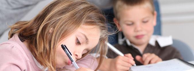 Ayudar al niño con los deberes del colegio