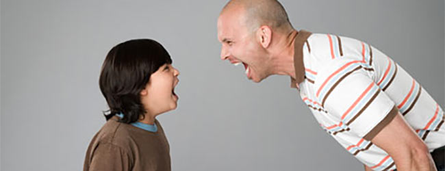 Educación de los niños con mal humor y temperamento