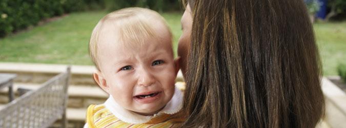 Mi bebé no para de llorar