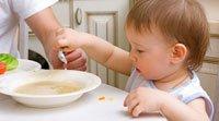 Introducción de alimentos sólidos en la dieta de los niños