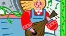 Una mulita y un buey. Canción navideña para niños